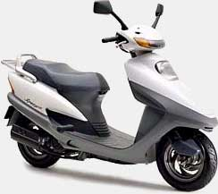 honda Spacy 125 JF04